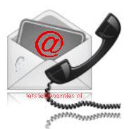 E-mail en telefoon-button